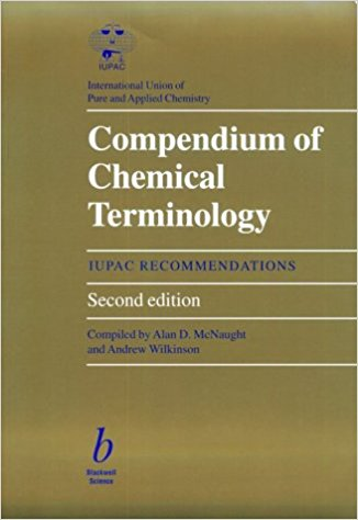 IUPAC Compendium of Chemical Terminology